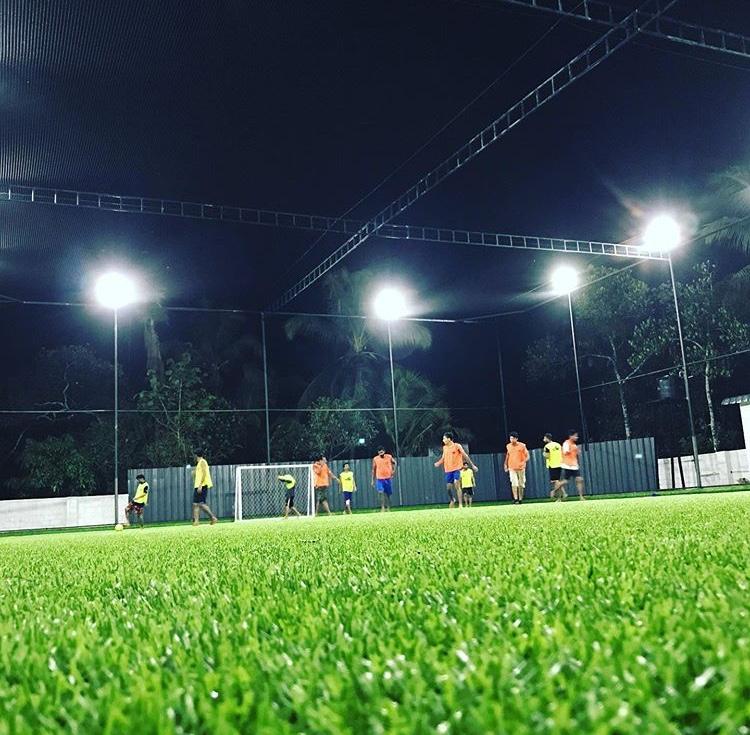 real arena kannur football turfs near chovva kannur SN college kannur playspotsapp
